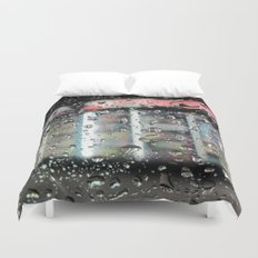 Cold Rain Duvet Cover