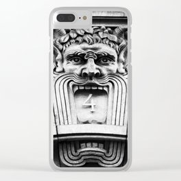 Grotesque #4 Clear iPhone Case