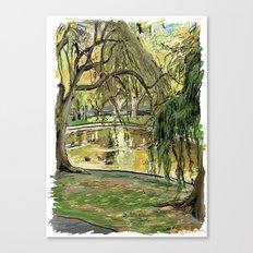 Public Garden 2 Canvas Print