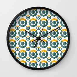 Komodo (Kmd) - Crypto Fashion Art (Medium) Wall Clock