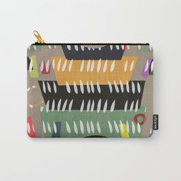 UDON NOODLE BOWL . abstract cutouts Carry-All Pouch