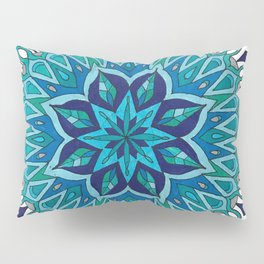Mandala of Intuition Pillow Sham