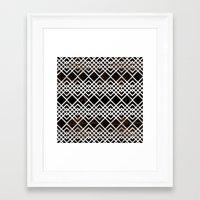 boho Framed Art Prints featuring Boho by Grace
