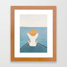 Summer Vacation I Framed Art Print