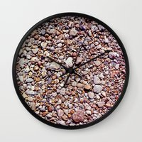 rocky Wall Clocks featuring rocky by jmdphoto