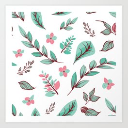 Flower Design Series 15 Art Print