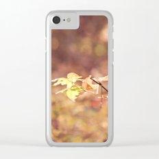 Autumn Child Clear iPhone Case