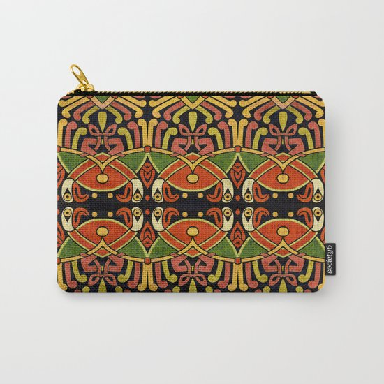 Celtic Animal Symbol Carry-All Pouch