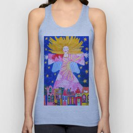 THE GUARDIAN ANGEL Unisex Tank Top