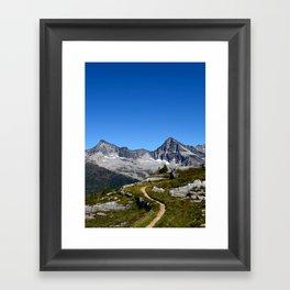 Hiker's Paradise Framed Art Print