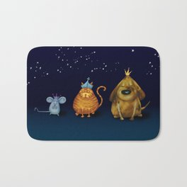 We Three Kings Bath Mat