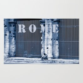 LOVERS - Rome - Italy  Rug