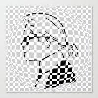 karl Canvas Prints featuring Karl by cvrcak