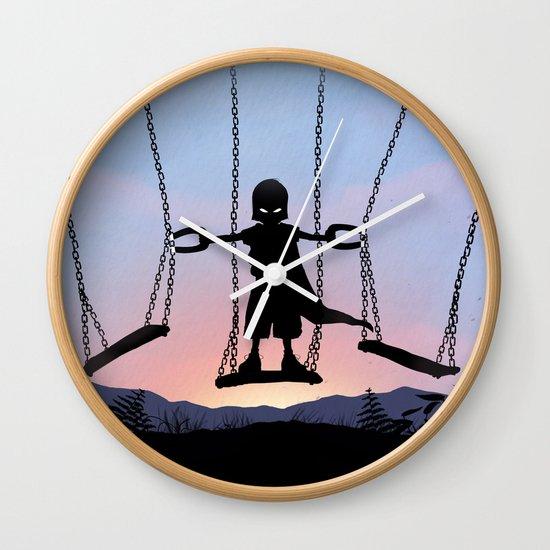Magneto Kid Wall Clock