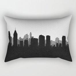 City Skylines: Philadelphia Rectangular Pillow