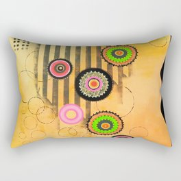 Pop Flowers I Rectangular Pillow