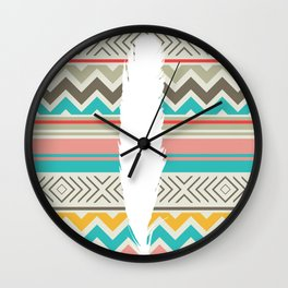 The Feather Wall Clock