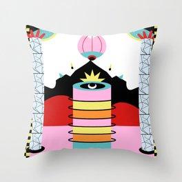 mental breakdown Throw Pillow