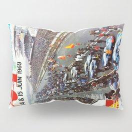 1969 Le Mans poster, Race poster, Car poster, vintage poster Pillow Sham