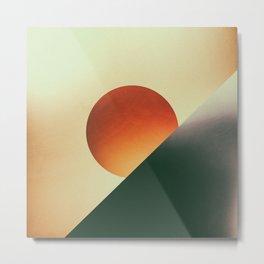 Tangerine Sunset Metal Print