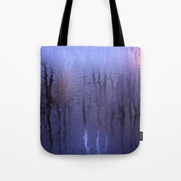 Purple Condensation Tote Bag