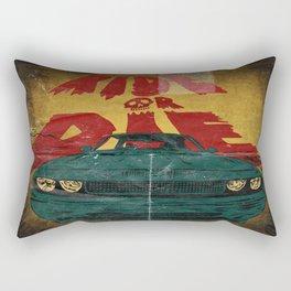 MEKANO TURBO/ride or die poster Rectangular Pillow