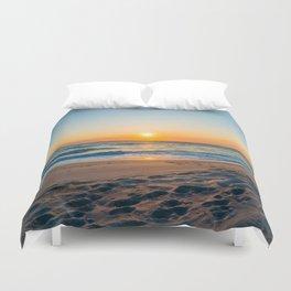 Canaveral National Seashore Sunrise Duvet Cover