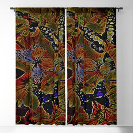 Insect Models: Beautiful Butterflies 04-03 Blackout Curtain