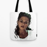 melissa smith Tote Bags featuring Melissa by @cuisle