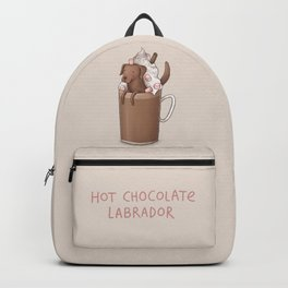 Hot Chocolate Labrador Backpack