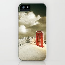 Winter in the Cotswolds, England iPhone Case