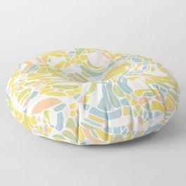 Pastel Pebbles Floor Pillow