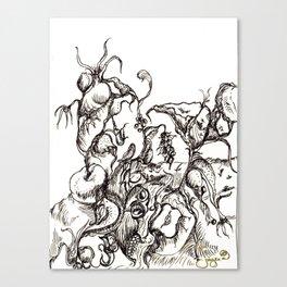 Botanical Abstract #9 Canvas Print
