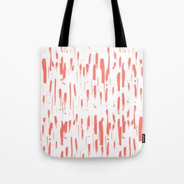 Harmony Coral Tote Bag