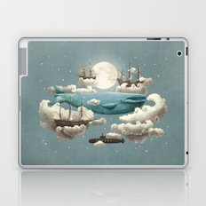 Ocean Meets Sky - colour option Laptop & iPad Skin
