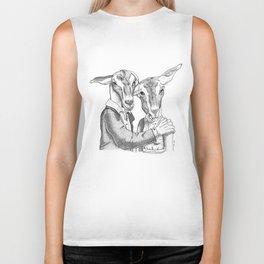 Goats Biker Tank