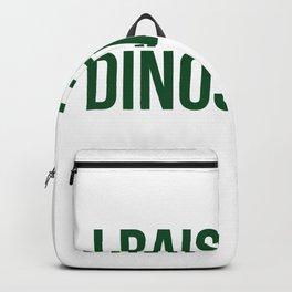 I Raise Tiny Dinosaurs 5 Backpack