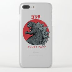 Gojira Kaiju Alpha Clear iPhone Case