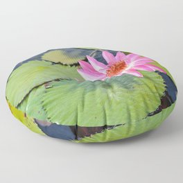 Water Lily, V Floor Pillow