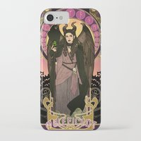 maleficent iPhone & iPod Cases featuring Maleficent by Madeoftin