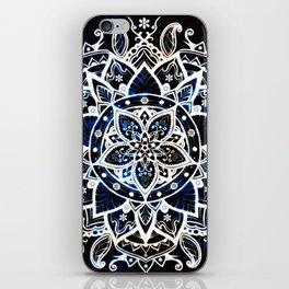 Radiant Zen Glowing Mandala iPhone Skin