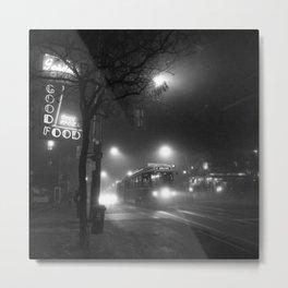 A Streetcar Named Noir Metal Print