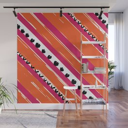 texture lines pattern Wall Mural