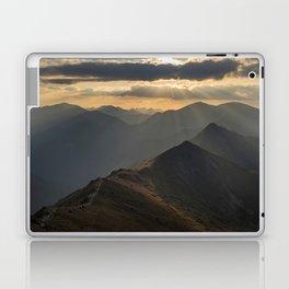 Sunset on the peak Laptop & iPad Skin