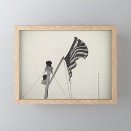 Boat travel Framed Mini Art Print