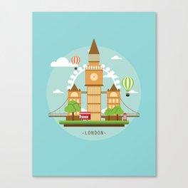 London,England Canvas Print
