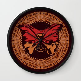 Puppet Butterfly Wall Clock