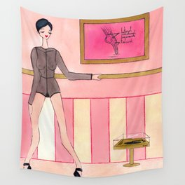 naked releve Wall Tapestry