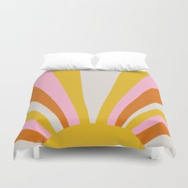 sunshine state of mind Duvet Cover