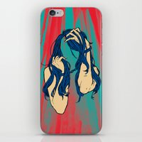 cancer iPhone & iPod Skins featuring Cancer by Rendra Sy